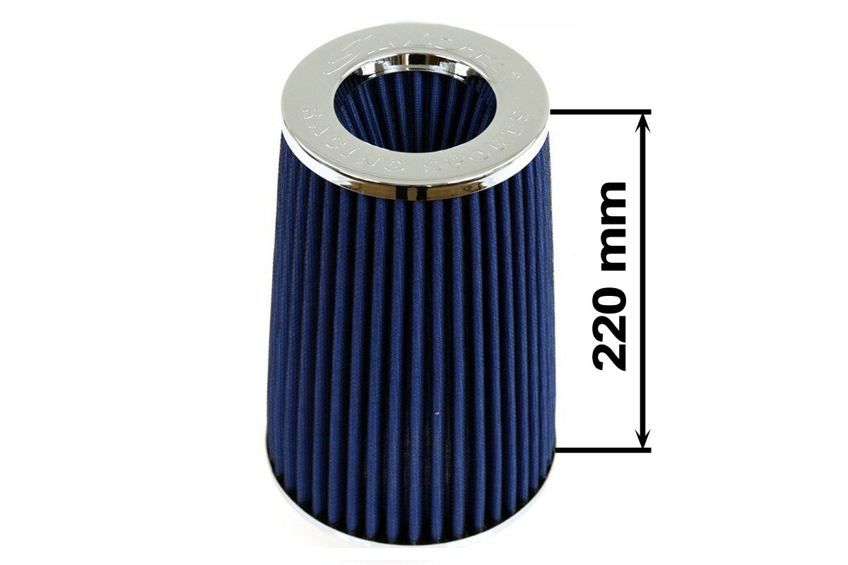 Filtr stożkowy SIMOTA JAUWS-022A 84mm Blue - GRUBYGARAGE - Sklep Tuningowy